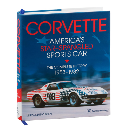 Alternate view of Corvette - America's Star-Spangled Sports Car.
