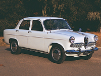 The Giulietta TI Berlina offered twin cam motoring for tens of thousands of Europeans, but only a handful of Americans.