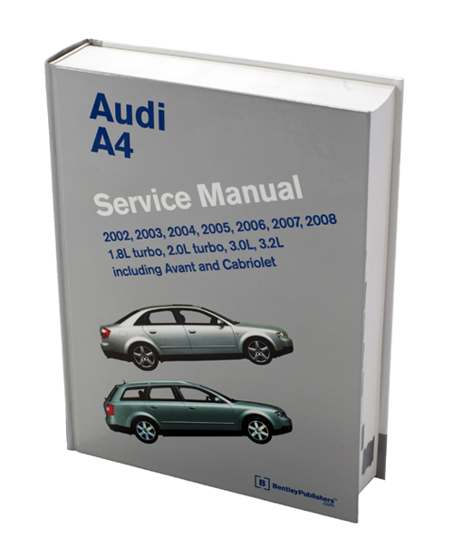 AUDI A4 SERVICE MANUAL DOWNLOAD 2002 2003 2004 2005 2006 2007 2008 ...