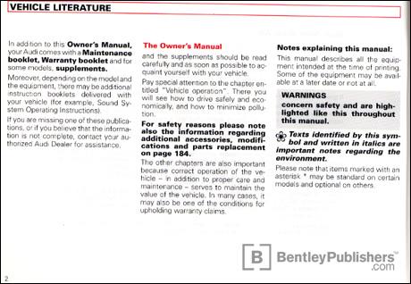 Audi Audi Repair Manual A6 S6 1998 2004 Bentley Publishers | Autos ...