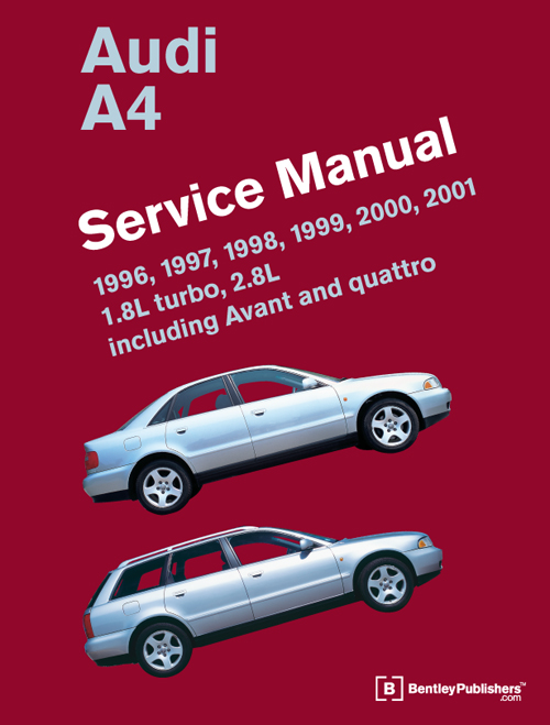 Audi A4: 1996-2001 Service Manual front cover