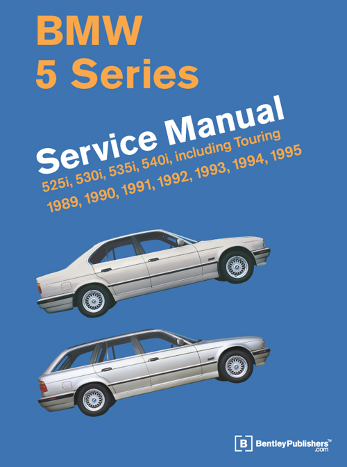 BMW 5 Series (E34) Service Manual: 