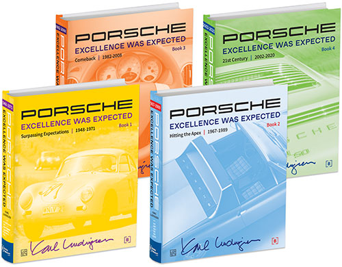 Porsche: Excellence Was Expected front covers