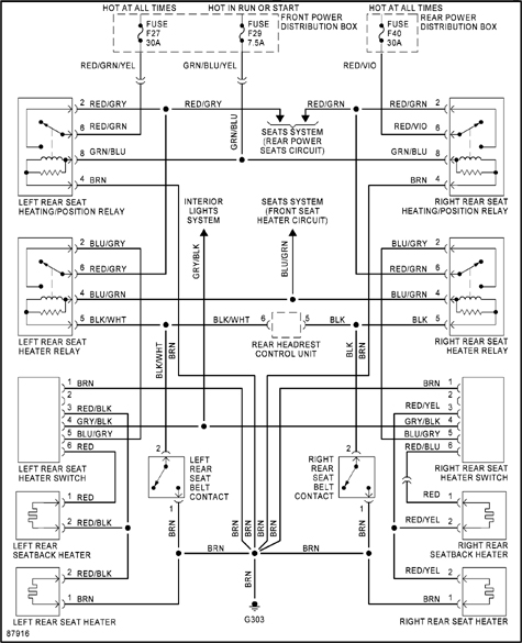 1997 toyota rav4 air conditioning diagram