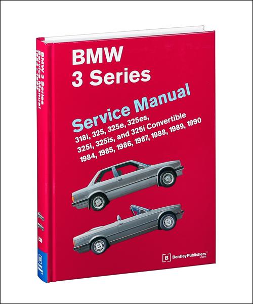 bmw repair manual 3 series e30 1984 1990 bentley. Black Bedroom Furniture Sets. Home Design Ideas