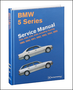 bmw repair manual 5 series e34 1989 1995 bentley publishers rh bentleypublishers com bmw 525i service manual bmw e39 525 tds service manual
