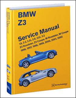 bmw repair manual z3 roadster z3 coupe m roadster m. Black Bedroom Furniture Sets. Home Design Ideas