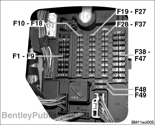Comprehensive fuse, relay, and electrical component locations.