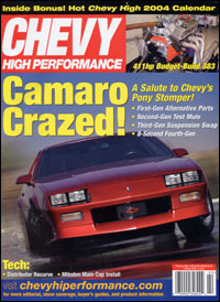 Chevy High Performance - February 2004 cover