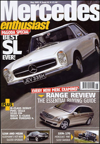 Mercedes enthusiast (UK), May 2005 - cover