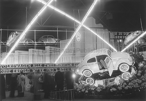 Inside the Frankfurt Show in 1951
