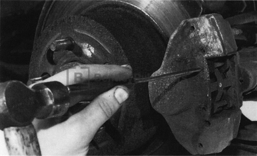 Brake pad troubleshooting