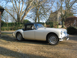 MGA Twin Cam Roadster 1959