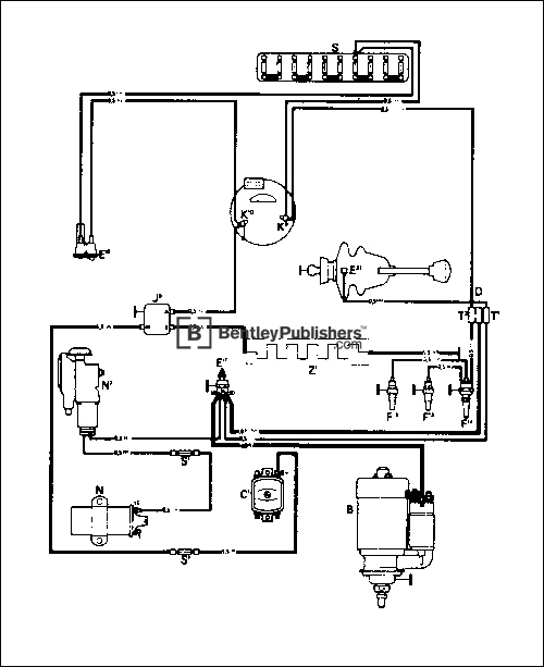 bentley.v179 line art2 500 diagrams 768576 vw alternator wiring diagram alternator wiring 1973 Super Beetle Wiring Diagram at crackthecode.co