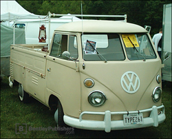 Volkswagen Pickup Single Cab (Type 2) 1963