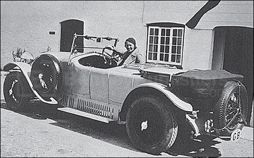 Everyday Vintage Car: the 1926 D.I.S Delage used by Richard Wheatley as normal transport from 1931 to 1937