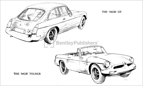 MGB GT and MGB Tourer Excerpted illustration from page 2.
