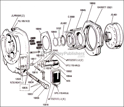 Jaguar Engine Schematic