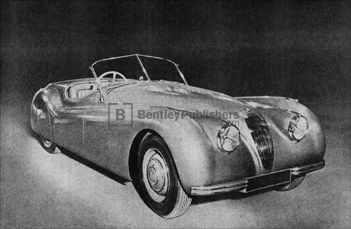 Jaguar Super Sports Excerpted illustration from Jaguar Super sports model, plate 1.