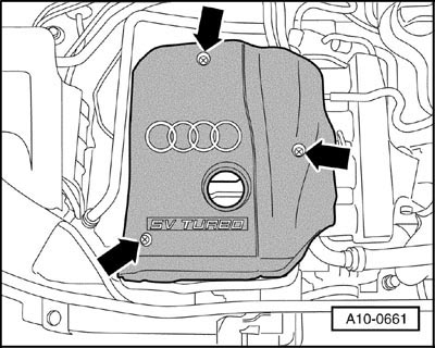 Audi A4 1996 2001 Spark Plug Change Procedure
