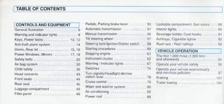 excerpt vw volkswagen owner s manual golf gti 1996 bentley rh bentleypublishers com vw golf v owners manual pdf volkswagen golf 5 owners manual