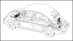 74 El Camino Wiring Diagram moreover Leeson Single Phase Capacitor Wiring Diagram moreover 96 Chevrolet Cavalier Starter Wiring Diagram in addition Vw Buggy Wiring Diagram Basic as well Vw Type 1 52 57 Factory Repair Manual. on vw beetle generator wiring diagram
