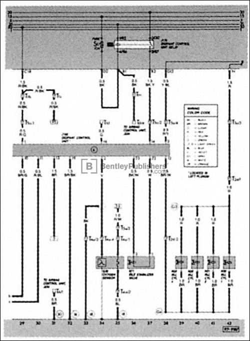 bentley vs93 electrical diagram 13 500 vw volkswagen repair manual cabriolet, scirocco 1985 1993 wiring diagram 1987 vw cabriolet at bayanpartner.co