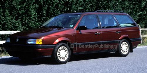 vw volkswagen repair manual passat 1990 1993 bentley rh bentleypublishers com 1993 Volkswagon Jetta 1999 Passat
