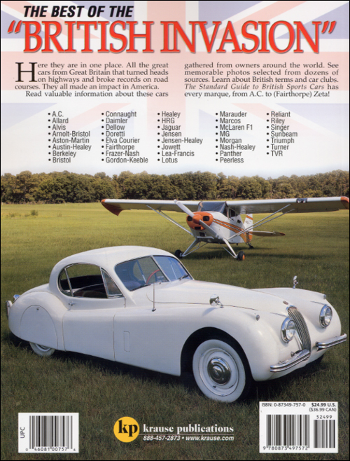 Standard Guide to British Sports Cars back cover