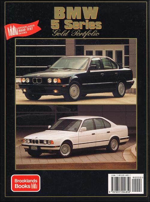 Back Cover Bmw Bmw 5 Series Gold Portfolio 1988 1995