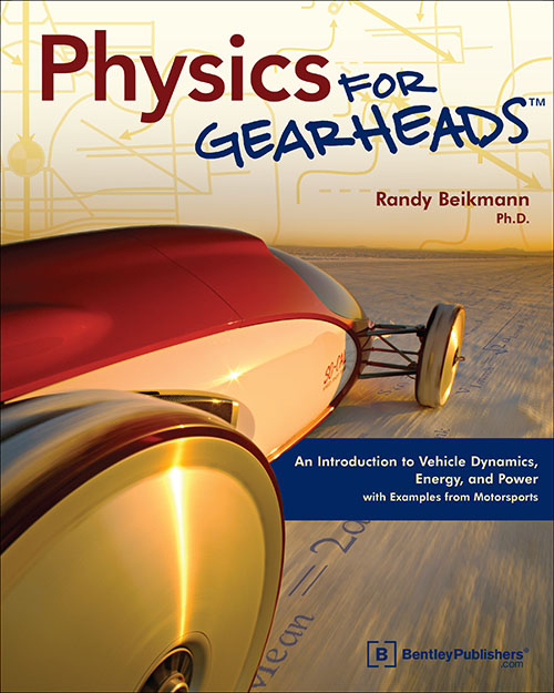 Physics for Gearheads by Randy Beikmann - front cover