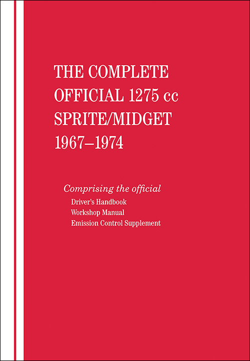 The Complete Official 1275 cc Austin-Healey Sprite / MG Midget: 1967-1974 - front cover