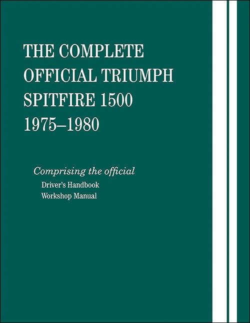 The Complete Official Triumph Spitfire 1500: 1975-1980 - front cover