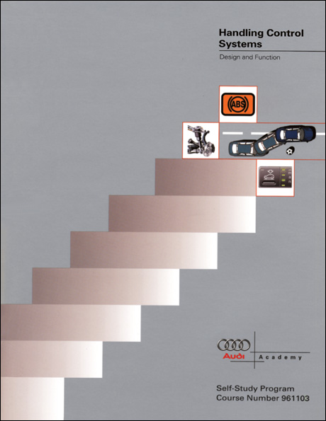 Audi Handling Control Systems Design and Function Technical Service Training Self-Study Program Front Cover