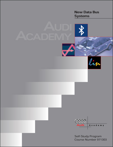 Audi New Data Bus Systems Technical Service Training Self-Study Program Front Cover