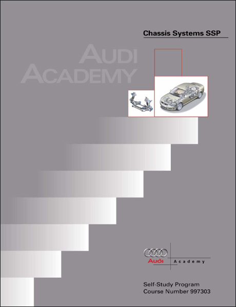 Audi Chassis Systems Technical Service Training Self-Study Program Front Cover
