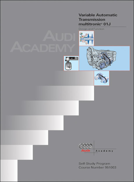 front cover - audi technical service training
