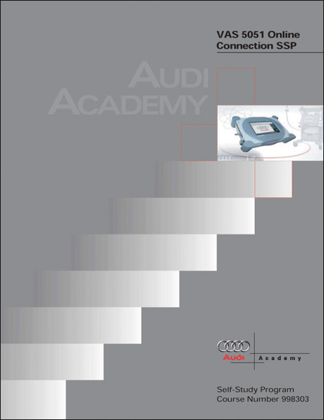 Audi VAS 5051 Online Connection Technical Service Training Self-Study Program Front Cover