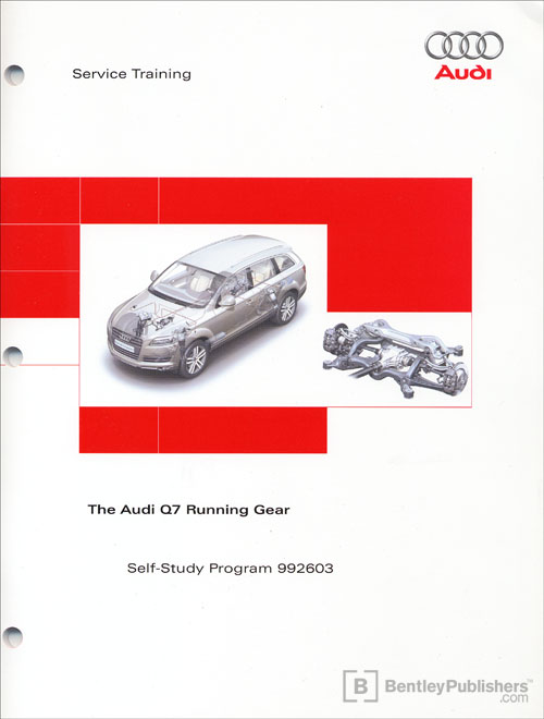 The Audi Q7 Running Gear Self-Study Program front cover