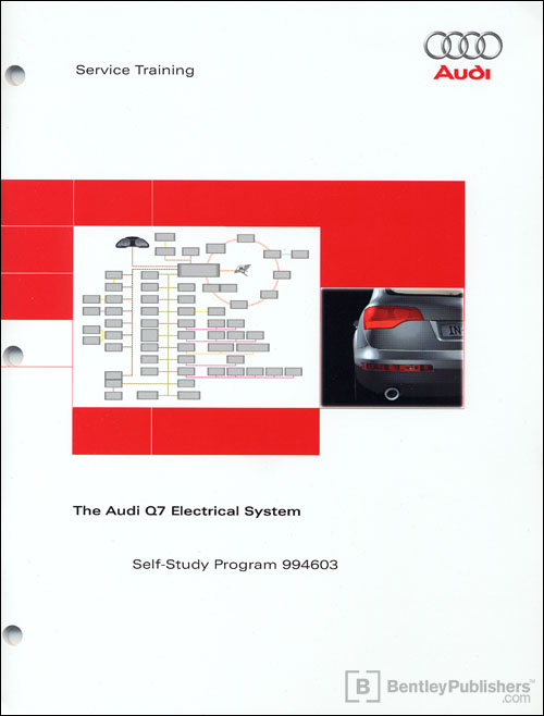 The Audi Q7 Electrical System Self-Study Program front cover