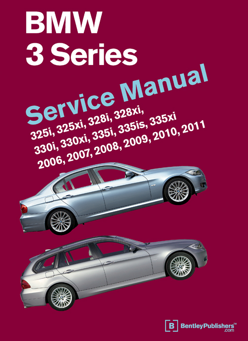 BMW 3 Series (E90, E91, E92, E93) Service Manual: 2006-2011 - front cover