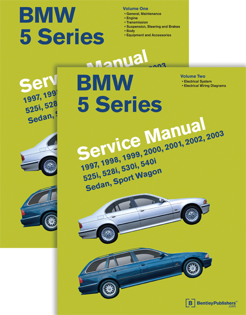 BMW 5 Series (E39) Service Manual: 1997-2003 covers