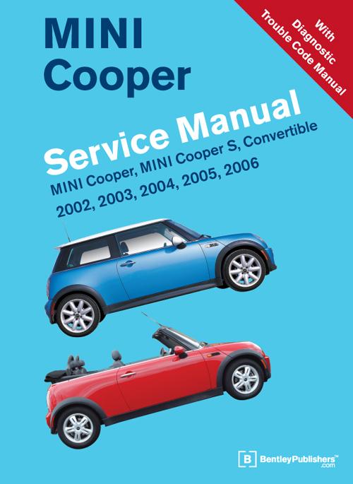 front cover mini repair manual mini cooper mini. Black Bedroom Furniture Sets. Home Design Ideas