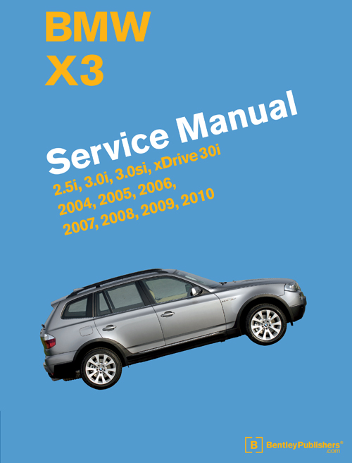BMW X3 (E83) Service Manual: 2004-2010 - front cover