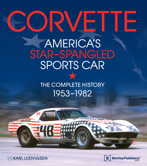 Corvette: America's Star-Spangled Sports Car - front cover