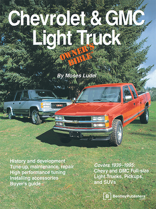 Chevrolet & GMC Light Truck Owner's Bible - front cover