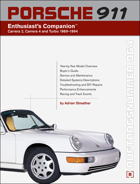 Porsche 911 (964): 1989-1994 Enthusiast's Companion™ front cover