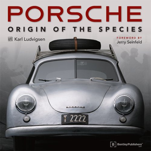 Porsche - Origin of the Species - Karl Ludvigsen - front cover