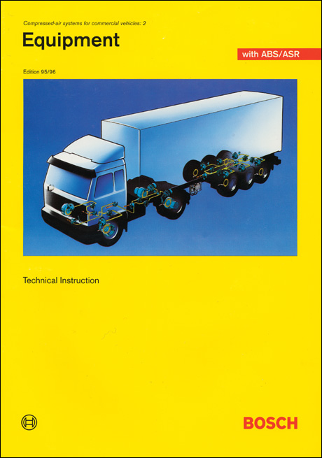 Bosch Compressed Air Systems for Commercial Vehicles: 2 Front Cover
