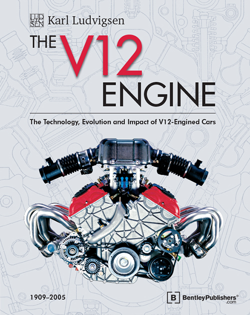 The V12 Engine by Karl Ludvigsen - front cover